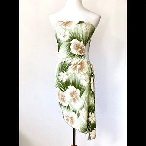 Forever 21 Asymmetrical Strapless Dress